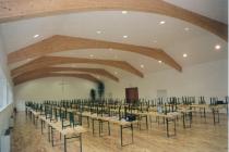 Gemeindesaal Heldberg: Akustikputz