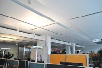 ING.DIBA Büro: Akustik-Deckensegel pinta FLOAT