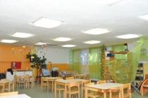 KG Wr. Kinderfreunde: Akustik-Spritzputz