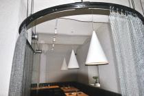 Restaurant Laolao-Wien: Akustikspritzputz