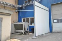 Coreth Recycling: Aggregat-Einhausung mit Zedphone Schalldämm-Paneelen